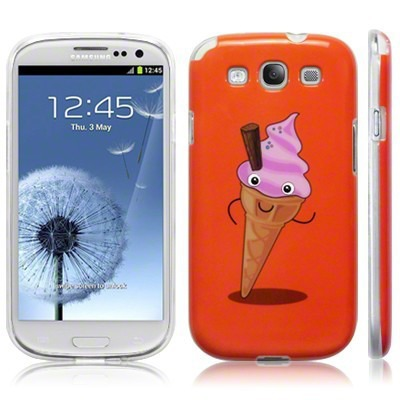 Etui Call Candy do Samsung i9300 Galaxy S3 żelowe - ice cream 2