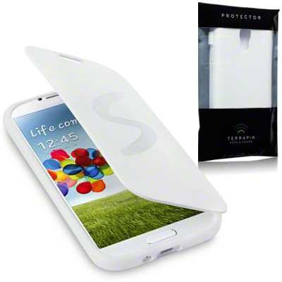 Etui Terrapin do Samsung i9500 Galaxy S4 żelowe - biały