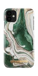 [NZ] iDeal Of Sweden - etui ochronne do iPhone 11 (Golden Jade Marble)