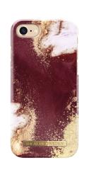 [NZ] iDeal Of Sweden - etui ochronne do iPhone 6/6s/7/8 (Golden Burgundy Marble)