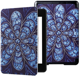 Etui EXOGUARD SmartCase BLUE FLOWER do Kindle 4 2018