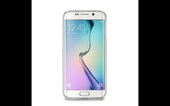 Etui PURO do Samsung Galaxy S6 Edge Plus ultra cienkie 0.3 mm - mleczno przeźroczyste