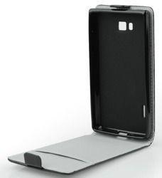 Etui Slim Flexi pionowe do LG K10 2017 czarne