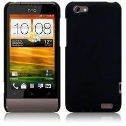 Etui Terrapin do HTC One V hybrydowe- czarny