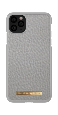 [NZ] iDeal Of Sweden - etui ochronne do iPhone 11 Pro Max (Saffiano Light Grey)