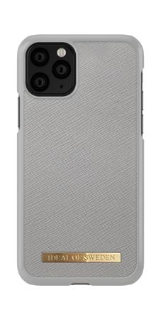 [NZ] iDeal Of Sweden - etui ochronne do iPhone 11 Pro (Saffiano Light Grey)