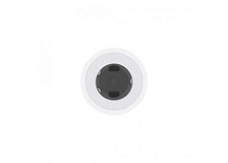 Adapter Apple MMX62ZM/A Lightning -> Mini Jack 3.5 MM