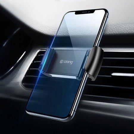 "CRONG UNIVERSAL SMART CAR HOLDER – UNIWERSALNY UCHWYT SAMOCHODOWY DO TELEFONU 4""-6,5"" (CZARNY)"