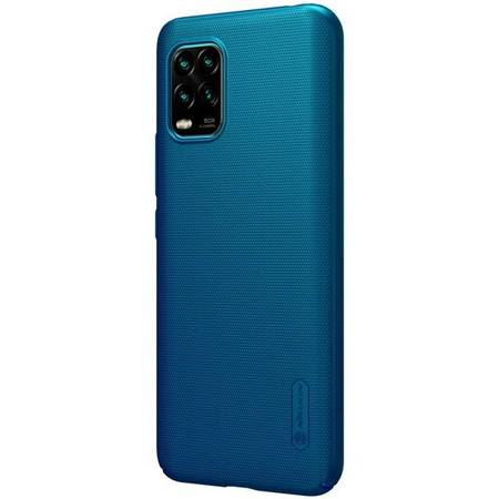 ETUI NILLKIN FROSTED SHIELD XIAOMI MI 10 LITE BLUE