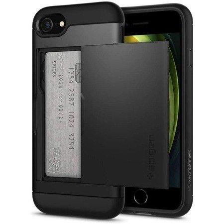 ETUI SPIGEN SLIM ARMOR CS IPHONE 7/8/SE 2020 BLACK