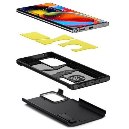 ETUI SPIGEN TOUGH ARMOR GALAXY NOTE 20 ULTRA BLACK
