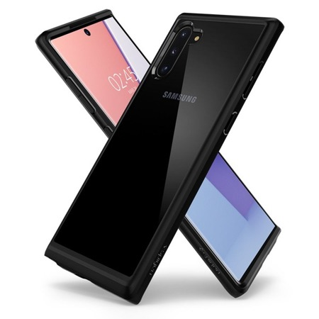 ETUI SPIGEN ULTRA HYBRID GALAXY NOTE 10 MATTE BLACK