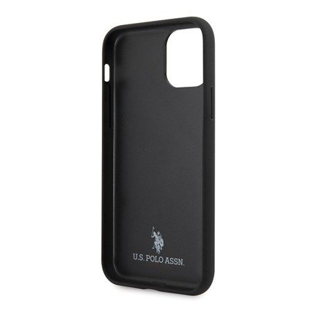 ETUI U.S. POLO ASSN. TYPE COLLECTION DO APPLE IPHONE 11 PRO MAX (GRANATOWY)