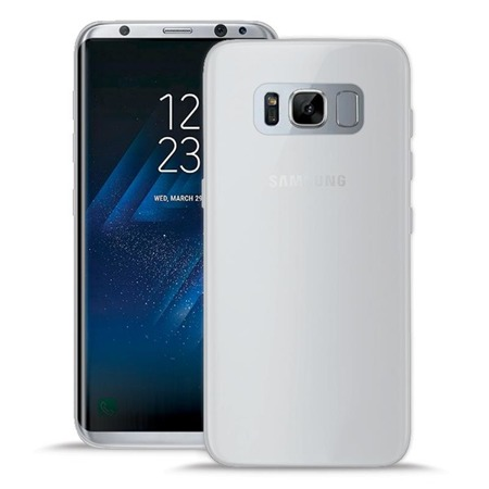 Etui PURO Slim 0.3mm do Samsung Galaxy S8 półprzezroczyste mleczne