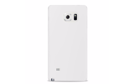 Etui PURO do Samsung Galaxy Note 5 przeźroczyste Ultra Slim + folia LCD