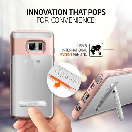 Etui SPIGEN SGP CRYSTAL Hybrid do Samsung Galaxy Note FE / Note 7