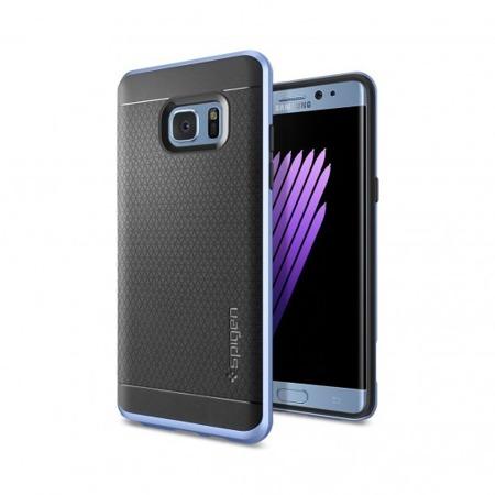 Etui SPIGEN SGP Neo Hybrid do Samsung Galaxy Note FE / Note 7 niebieskie