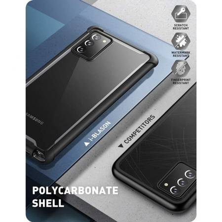 Etui SUPCASE IBLSN ARES GALAXY NOTE 20 BLACK