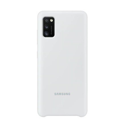 Etui Samsung EF-PA415TW A41 A415 biały/white Silicone Cover