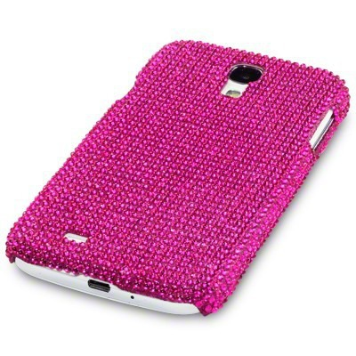 Etui Terrapin do Samsung Galaxy S4  i9500 diamentowe - różowy