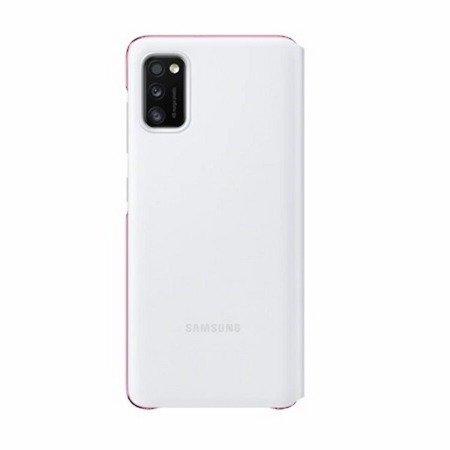 Etui oryginalne EF-EA415PW Samsung S View Wallet Cover Black - Samsung Galaxy A41 - Białe