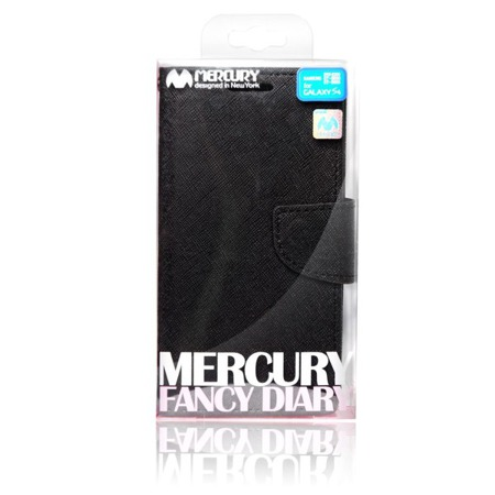 Etui portfel Goospery do Samsung Galaxy A7 czarny ze standem
