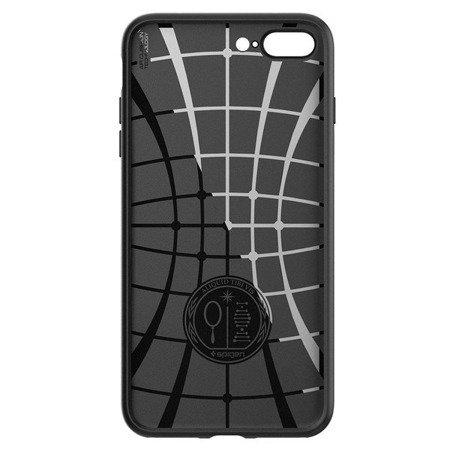 Etui silikonowe SPIGEN SGP Liquid Air iPhone 7 Plus/8 Plus 5.5 cala czarne