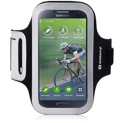 Etui sportowe Shocksock do Samsung i9500 Galaxy S4 Shocksock - czarny