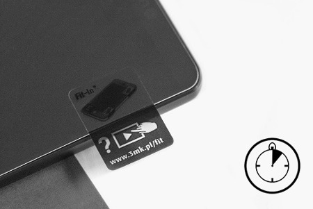 Hybrydowe szkło 3MK Flexible Glass 7H do BlackBerry Leap - 1 sztuka