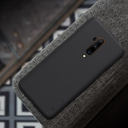 NILLKIN SUPER FROSTED SHIELD - ETUI ONEPLUS 7T PRO (BLACK)