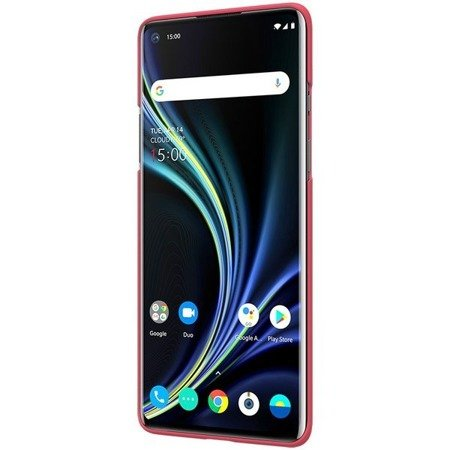NILLKIN SUPER FROSTED SHIELD - ETUI ONEPLUS 8 (BRIGHT RED)