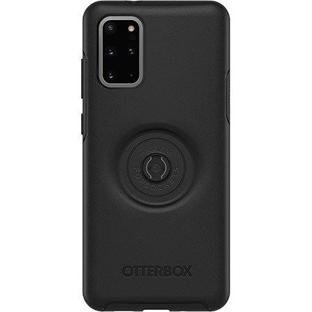 OtterBox Symmetry POP - obudowa ochronna z PopSockets do Samsung Galaxy S20+ Plus (czarna)
